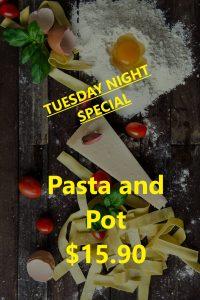 Hampton RSL Tuesday Pasta Special
