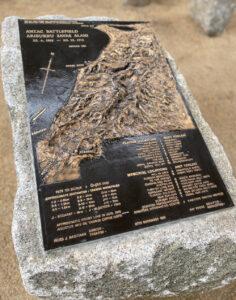 Relief Map of the Gallipoli Battle Scene 1915
