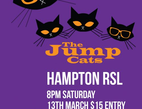The Jump Cats Saturday 13th March